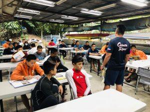 圖二解說本校對運動人才培育及課業和生活輔導