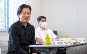 信州大學社會基盤研究所丸橋昌太郎所長