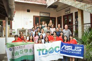 鼓勵學生海外志工、實習。